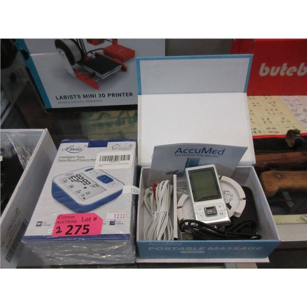 Digital Blood Pressure Monitor & TENS Device