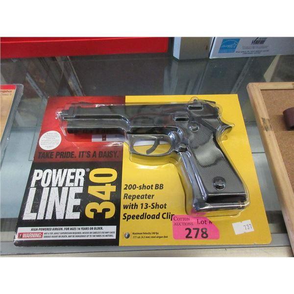 New Daisy Power Line 340 BB Repeater Pistol