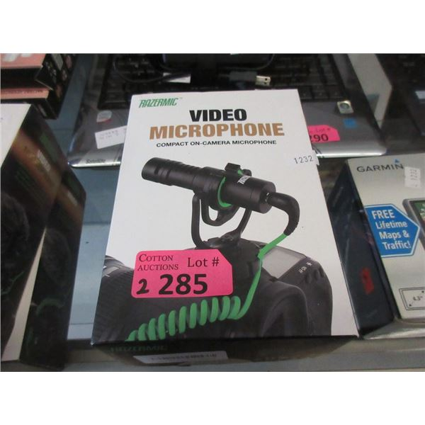 2 New Compact On-Camera Video Microphones