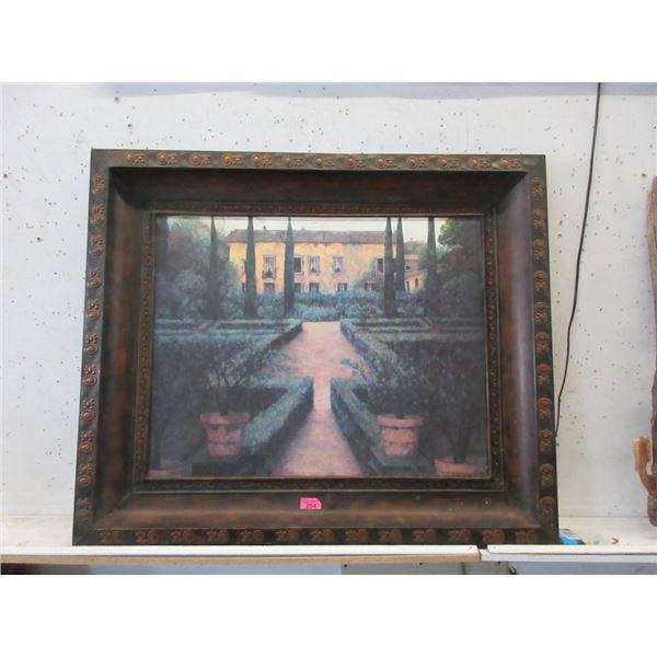 "Oversize Metal Wall Art - 45"" x 48"""