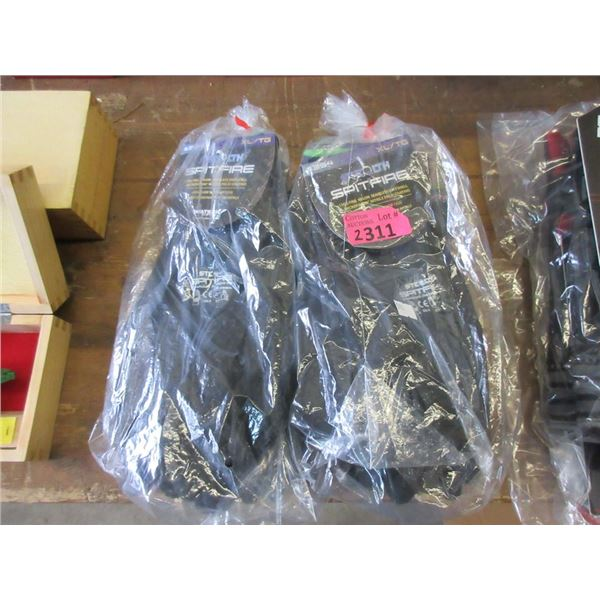 6 Pairs of Stealth Spitfire XL Gloves