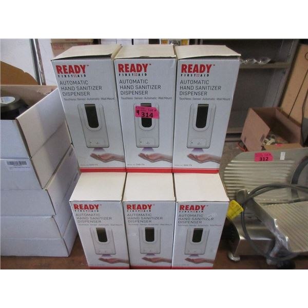 9 Automatic Hand Sanitizer Dispensers