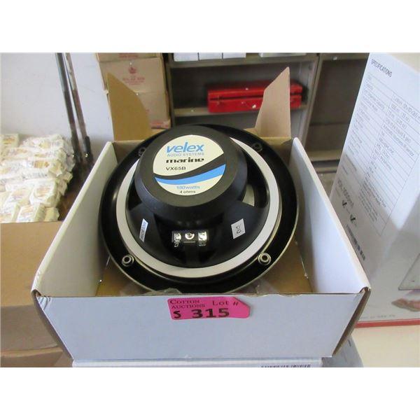 5 VELEX Marine Speakers - 180 Watt