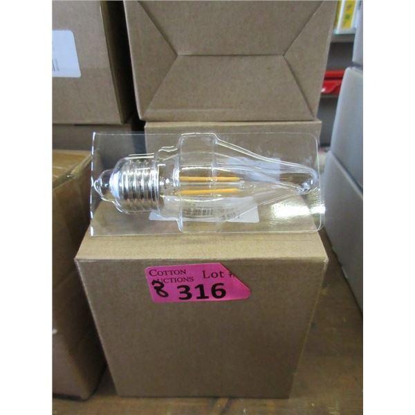 8 Boxes of 6 LED Candelabra Bulbs
