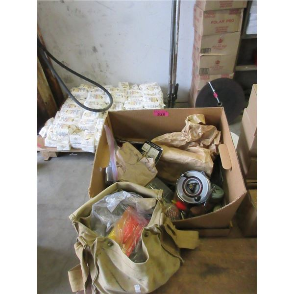 Large Box of Fishing Gear