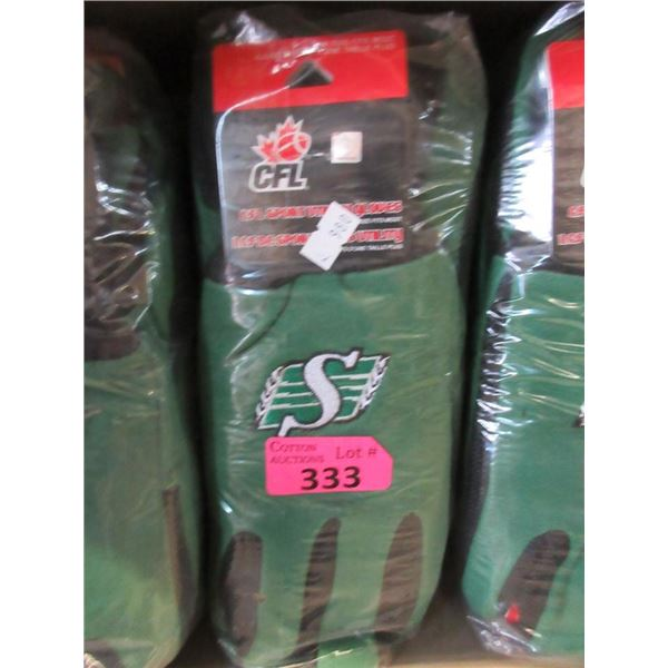 Pack of 12 New Rough Rider Football Gloves