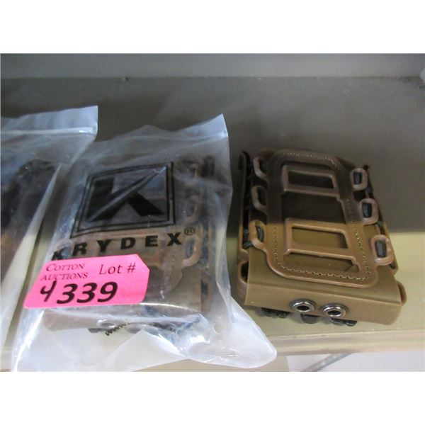 4 KRYDX 5.56 mm Soft Shell Mag Pouches