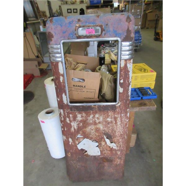 """Gasoline Pump Door - 53"""" tall x 19"""" wide"""