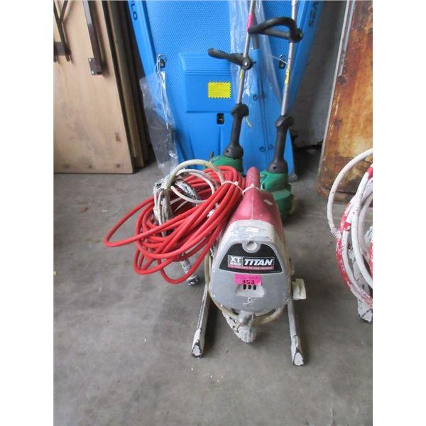 Titan XT250 Paint Sprayer - No hose