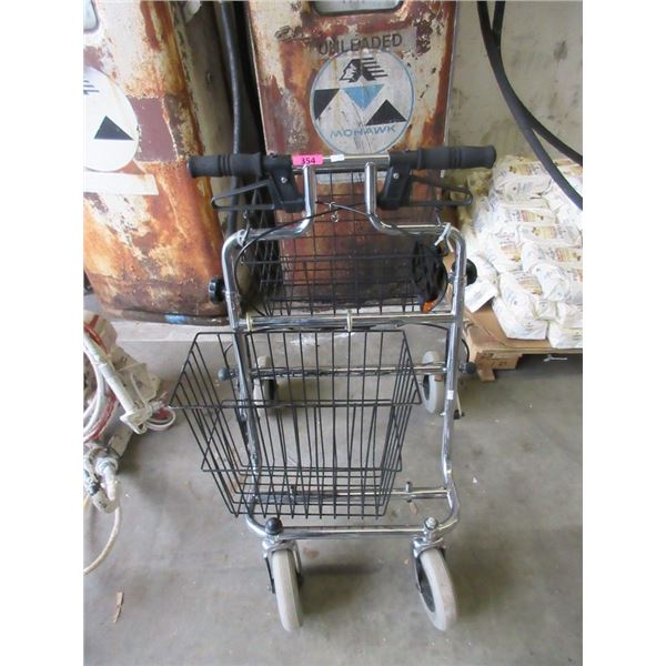Mobility Walker with Shopping Basket