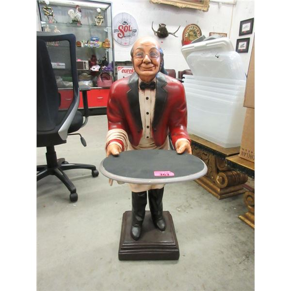 """40"""" Tall Butler Table Stand"""