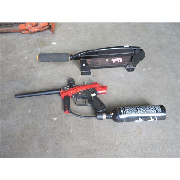 Paint Ball Gun & Cutter