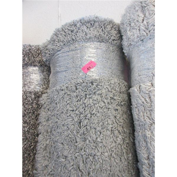 8' x 10' Grey Shag Area Carpet