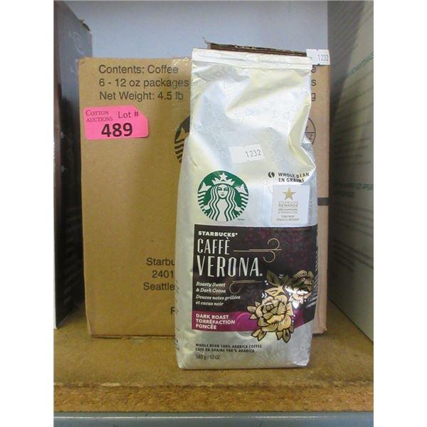 Case of 6 Starbucks 340g Coffee Beans