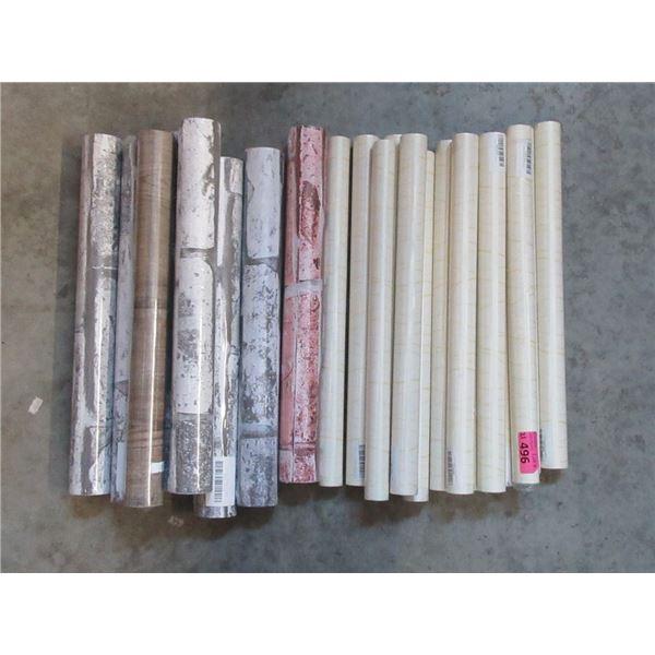 21 Assorted New Rolls of Shelf Liner