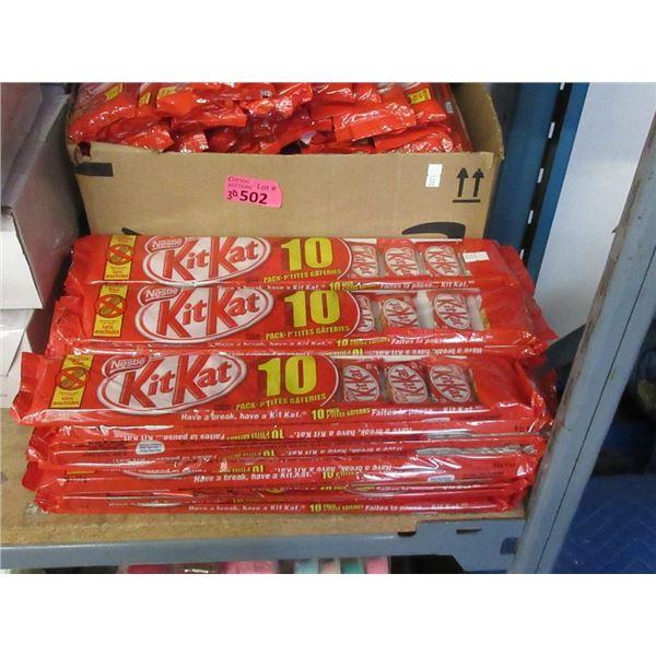 30 Packages of 10 Kit Kat Mini Bars