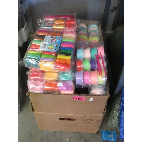 30+ Packages of Crafting Clay and Slime