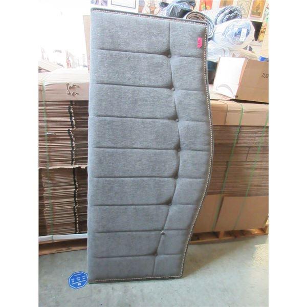 Grey Queen Size Headboard