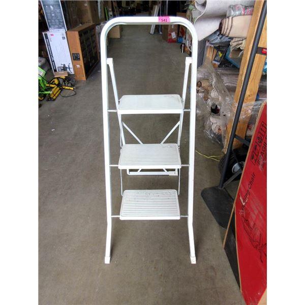 Baby Gate, Metal 3 Step Ladder & 2 Shop Lights
