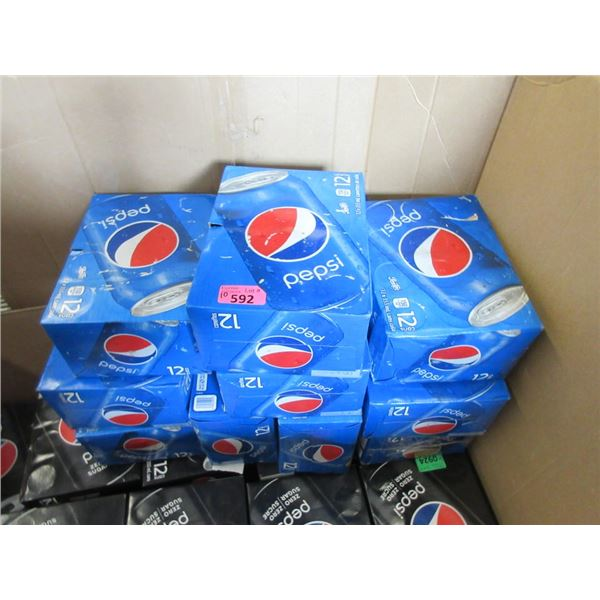 10 Cases of 12 x 355 ml Cans of Pepsi