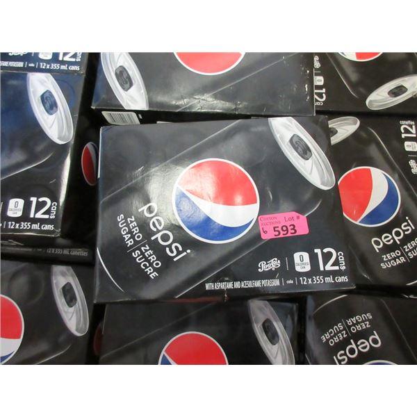 6 Cases of 12 x 355 ml Pepsi Zero