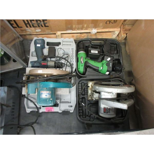 2 Electric & 2 Cordless Power Tools