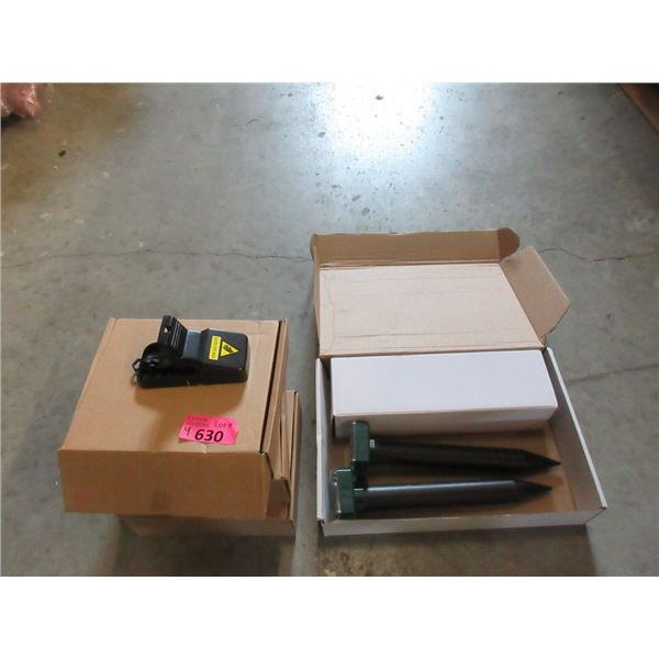 Pest Repeller & 3 Boxes of Mouse Traps