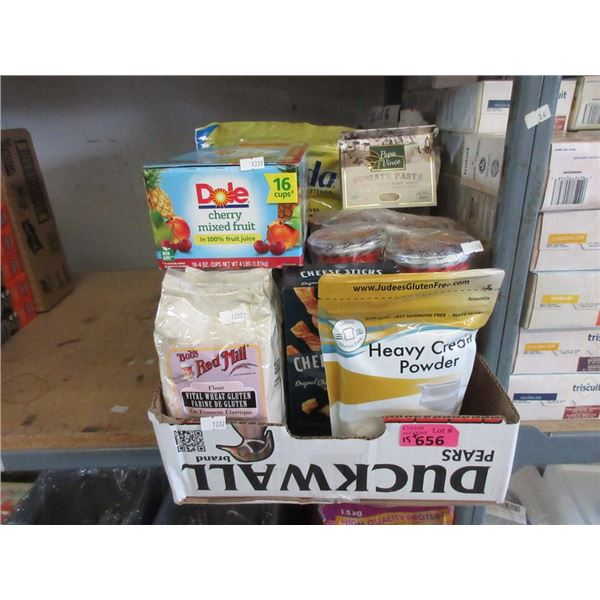 Box of Assorted Food Product