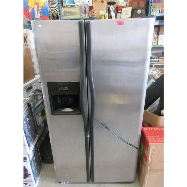 Frigidaire Side By Side Refrigerator Freezer working