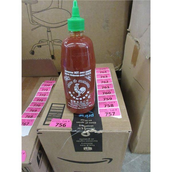 Box of 11 x 28 Oz. Sriracha Hot Chili Sauce