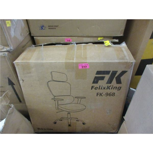 FelixKing FK-968 Office Chair - Open Box