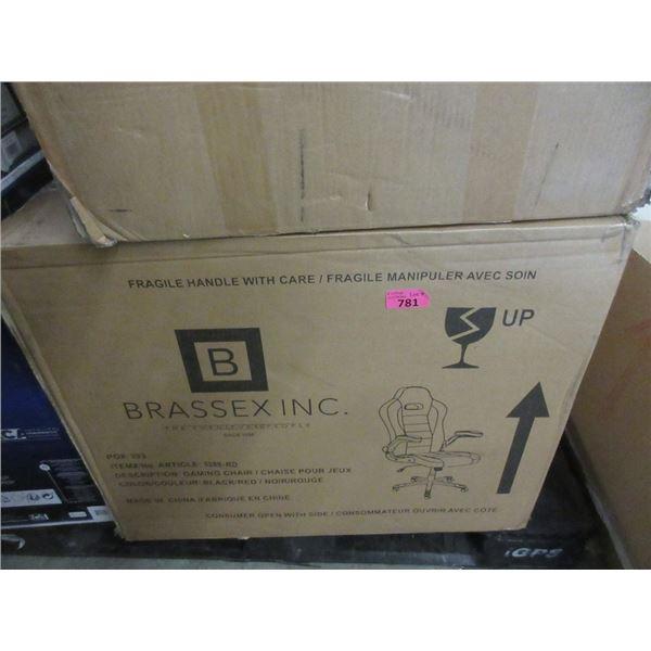 Brassex Inc. Gaming Chair - Open box