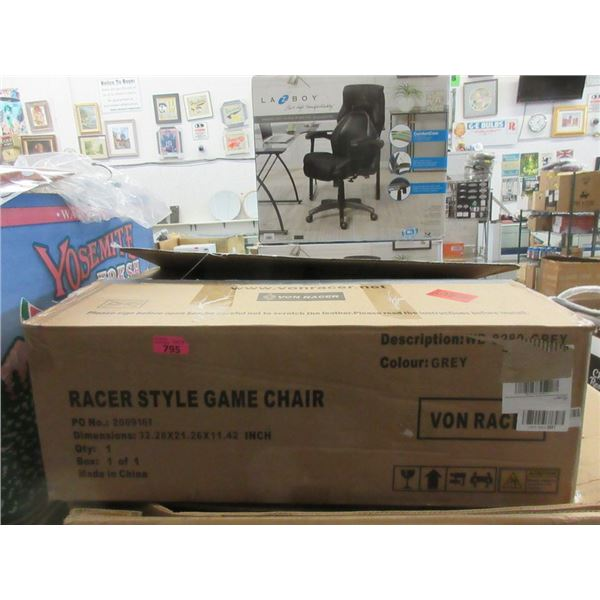Racer Style Gaming Chair - Open Box