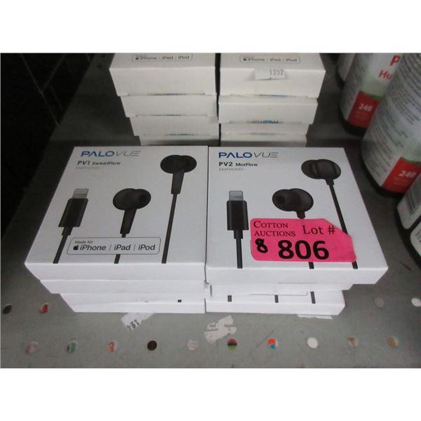 8 Palovue PV2 Earphones for iPhone/iPad/iPod