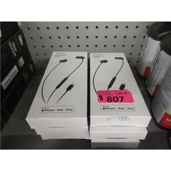 8 Palovue Earphones for iPhone/iPad/iPod