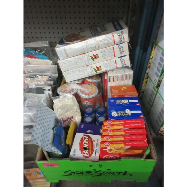 Lot of Assorted Food Products