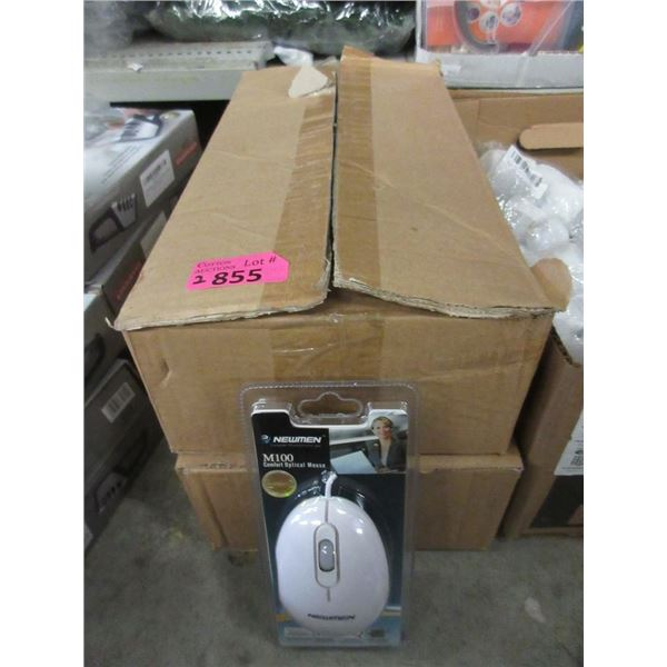 2 Cases of 10 Newman M100 Optical Mice
