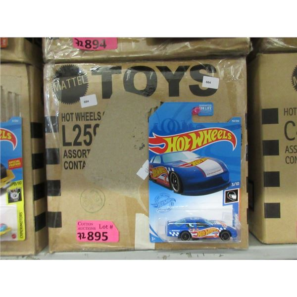 72 Assorted New Hot Wheels in Sealed Packages