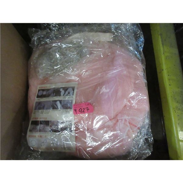 4 New Pink Mosquito Bed Netting with LED