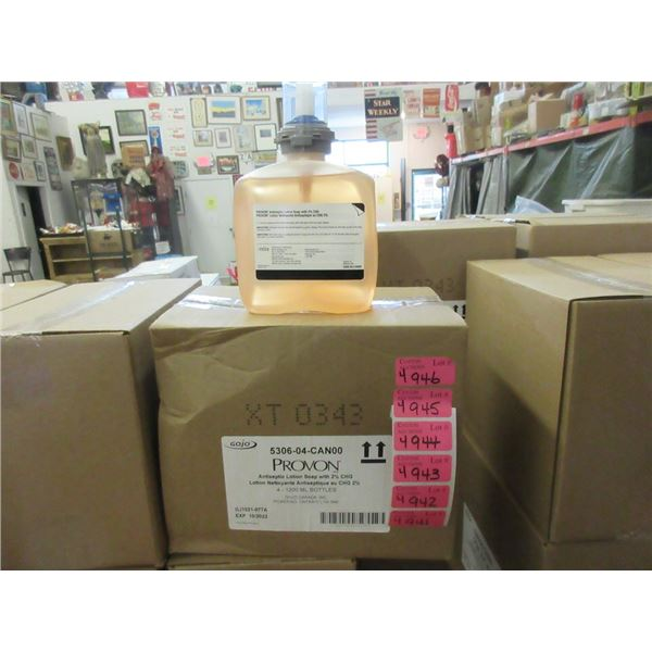 4 Cases of Gojo Provon Antiseptic Lotion Soap