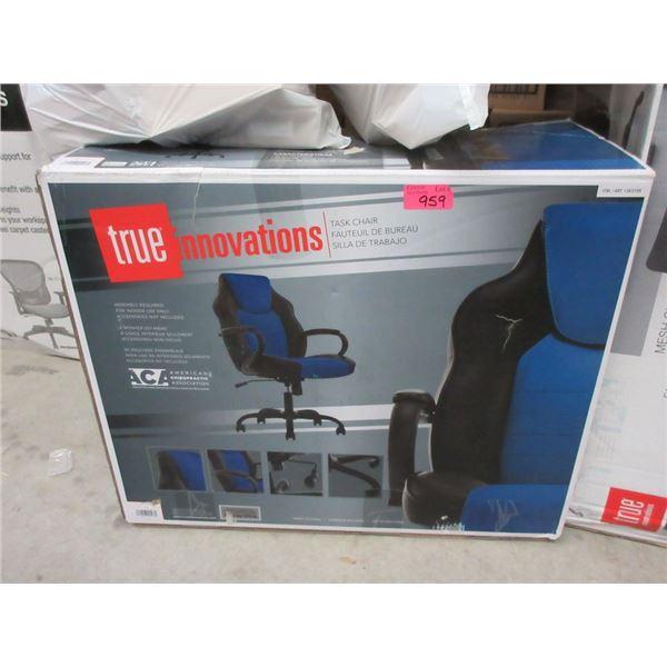 True Innovations Black & Blue Task Chair