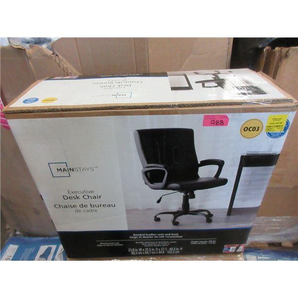 Mainstays Executive Desk Chair - Open Box