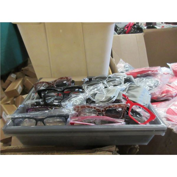 30 New Pairs of Reading Glasses - +3.00 to +4.00