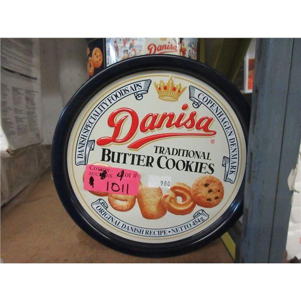 4 x 454 g Tins of Danisa Butter Cookies