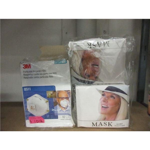 Box of 3M N95  Respirator Masks & More