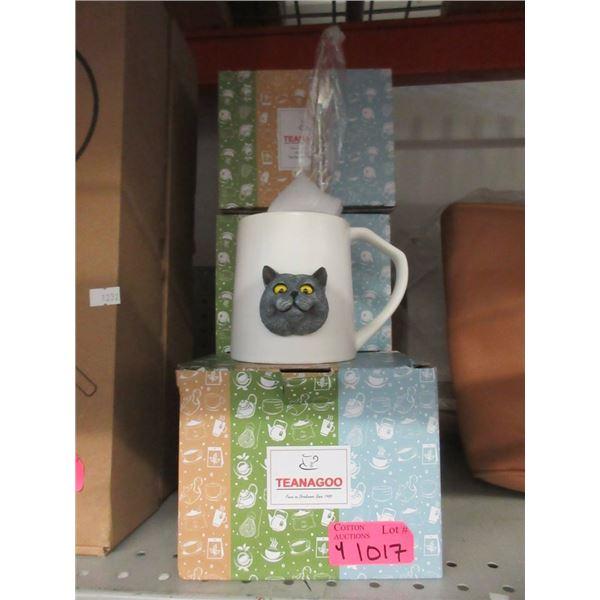 4 New Teanagoo Ceramic Matcha Mugs