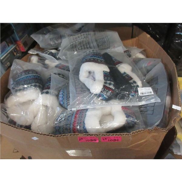 20 New Pairs of Assorted Slippers