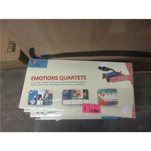 4 New Emotions Quartets Teaching Games