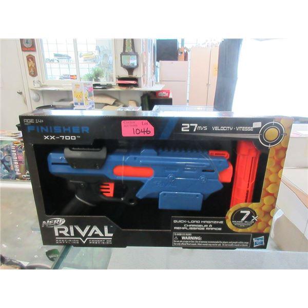 New Nerf Rival Finisher XX-700 Toy Gun
