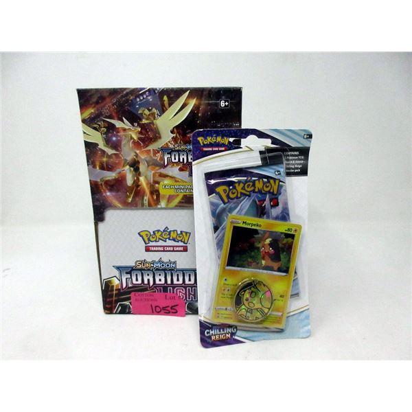 Pokemon Retail Display Box & 1 Game Pack